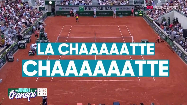 """Le Top 10 des craquages de la saison 2019, dont le fameux """"La CHAAAATTE"""" de Benoît Paire à Roland-Garros."""