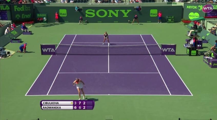 Agnieszka Radwanska est nominée pour le point de l'année 2014 du circuit WTA.