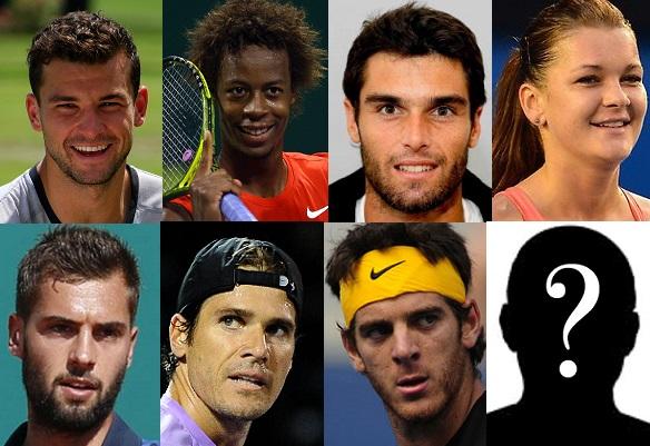 """Tennis Legend Awards : les nominés dans la catégorie """"tennis trick"""""""