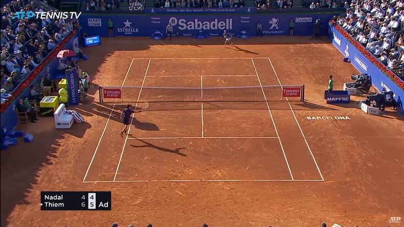 Dominic Thiem s'offre Rafael Nadal au tournoi de Barcelone 2019.