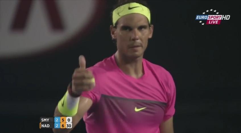 Rafael Nadal salue le fair-play de Tim