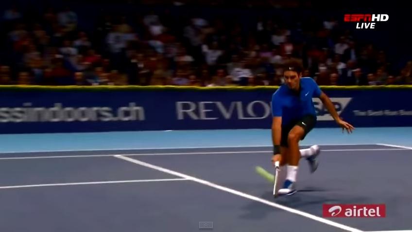 Les 10 plus beaux points de Roger Federer au tournoi de Bâle.