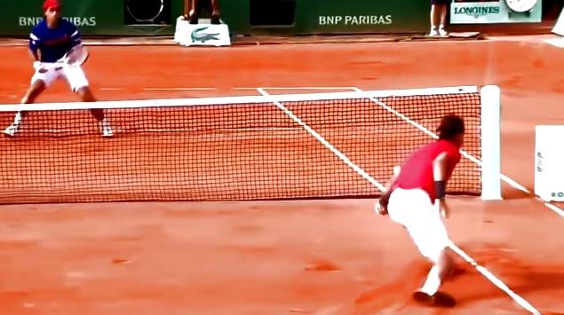 Une vidéo regroupant les meilleurs feintes du tennis.