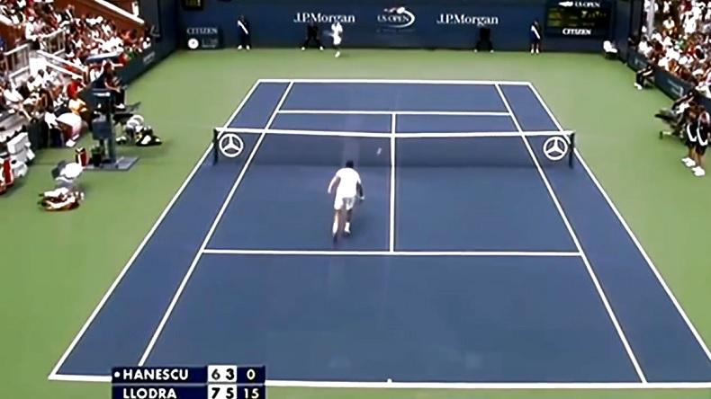 Une vidéo regroupant les meilleures feintes du tennis.