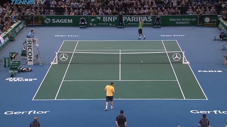Un résumé énorme de la victoire de Tsonga contre Nalbandian en finale du Masters de Paris-Bercy 2008.