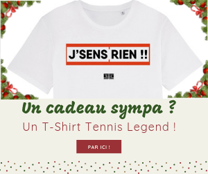 T-Shirt Tennis Legend Cadeau Noël