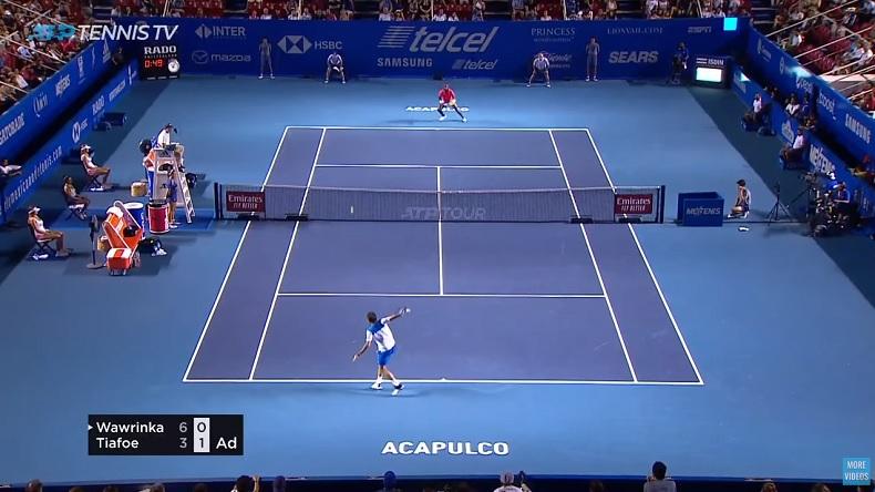 Faites-vous plaisir avec les highlights du match Wawrinka - Tiafoe à Acapulco.