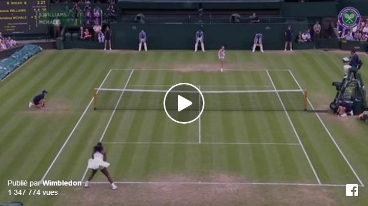 Les meilleurs points de la première semaine de Wimbledon 2016.