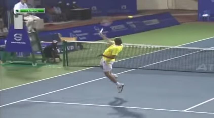 Xavier Malisse a joué le feu au tournoi de Chennai 2011.
