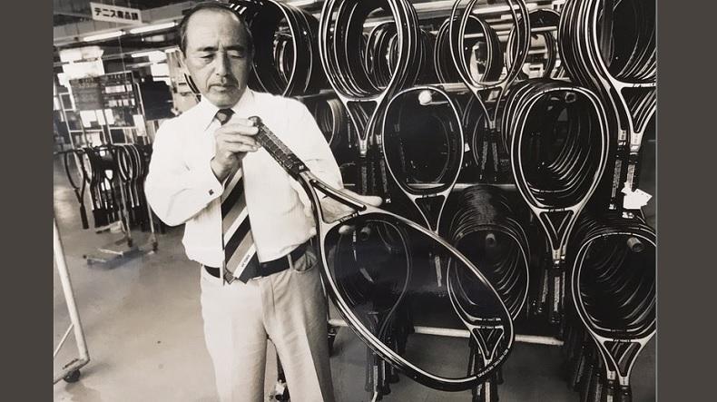 Minoru Yoneyama, le fondateur de la marque Yonex. (Crédit DR)