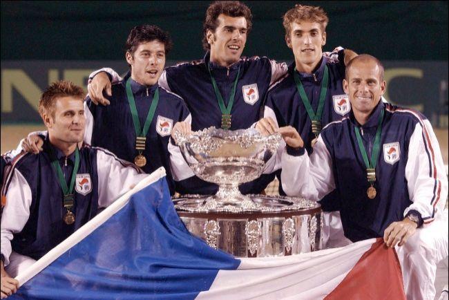 La France s'impose sur gazon en Australie et remporte la Coupe Davis 2001 (Crédit Abaca)