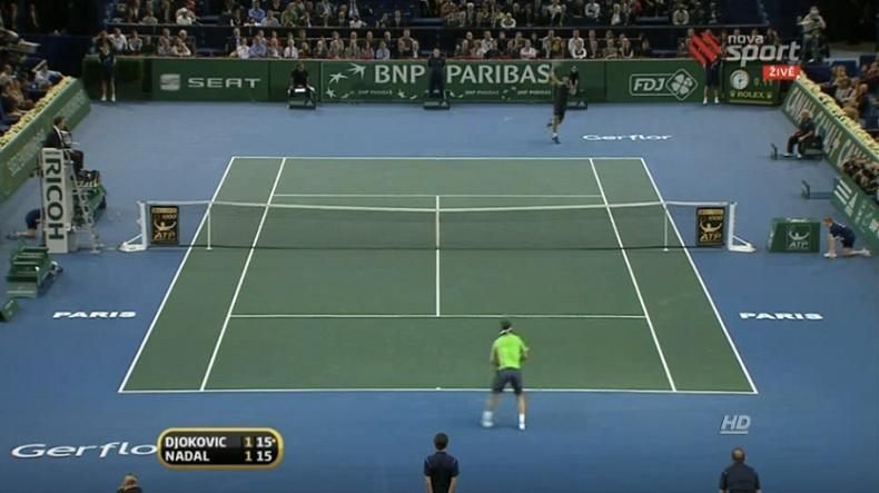 Une compilation de revers gagnants. Evidemment, Djokovic est dans la vidéo.