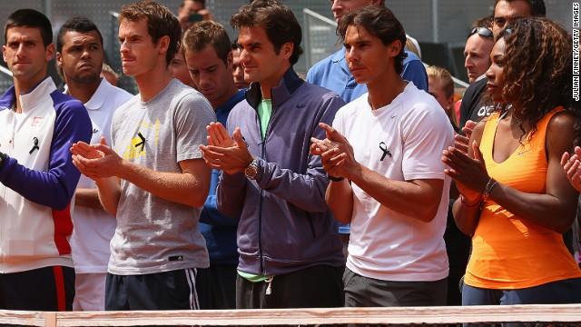 Djokovic, Federer, Nadal et S. Williams peuvent entrer encore un peu plus dans la légende du tennis lors de l'Open d'Australie 2014 (DR)