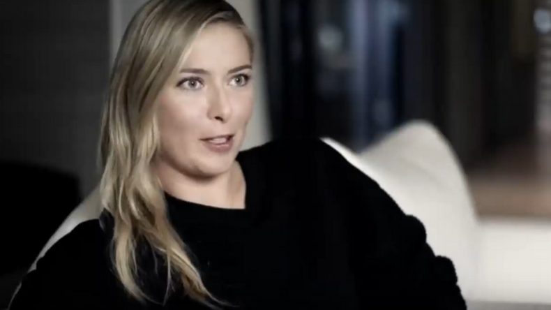 The Point est un documentaire sur Maria Sharapova pendant sa suspension pour dopage en 2016.
