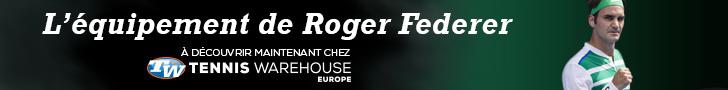 L'équipement complet de Roger Federer