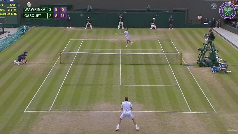 Richard Gasquet a livré un match somptueux pour éliminé Stan Wawrinka en quarts de finale de Wimbledon 2015.