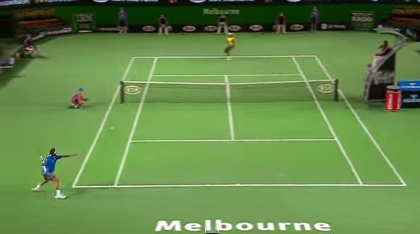 Fernando Gonzalez a démoli Rafael Nadal en quarts de finale de l'Open d'Australie 2007.