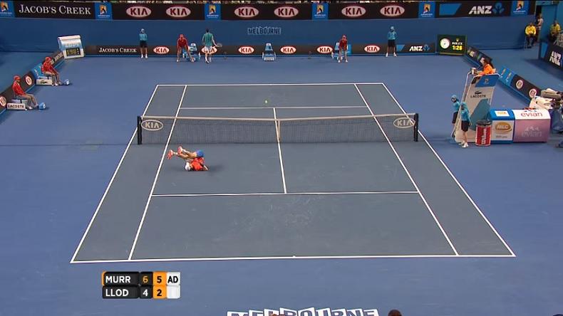 Andy Murray et Michael Llodra ont-ils joué le plus beau jeu de l'histoire du tennis à l'Open d'Australie en 2010 ?