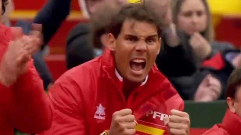 La passion de Rafa Nadal pour le tennis est fabuleuse.
