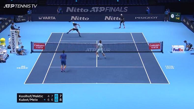 Marcelo Melo et Lukasz Kubot ont peut-être gagné le point du Masters 2020.