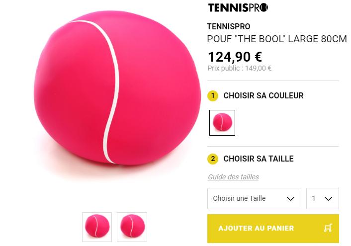 Le Pouf Tennis