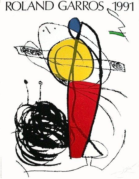 © Joan Miró - Galerie Lelong/FFT 1991