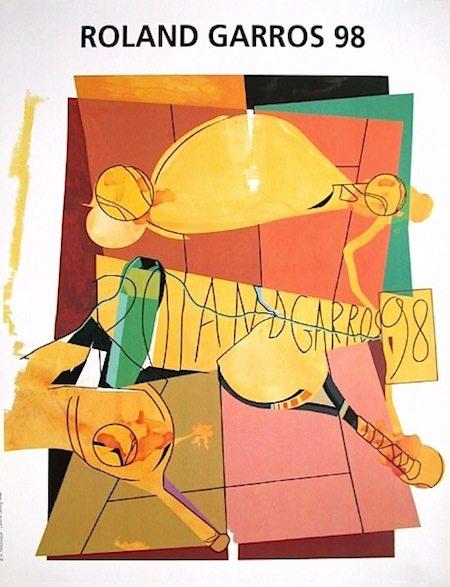 © Hervé Télémaque- Galerie Lelong/FFT 1998