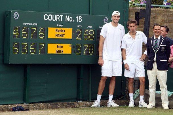 Isner – Mahut, Wimbledon 2010 : le plus long match de l'histoire du tennis