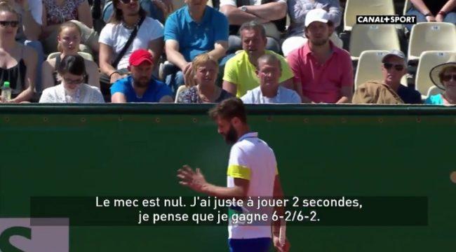 Le monologue légendaire de Benoît Paire sur Tommy Haas (Monte-Carlo 2017)