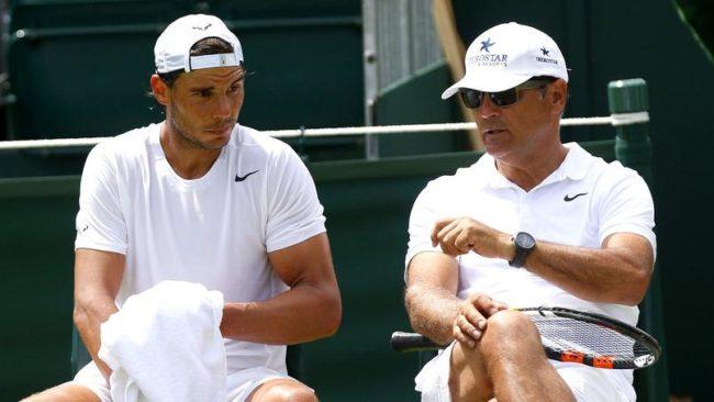 """Toni Nadal : """"Jamais je n'ai forcé Rafa à jouer de la main gauche"""""""