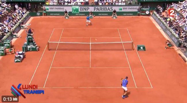 Le moment le plus drôle de la finale de Roland-Garros 2017 a eu lieu dès le premier point