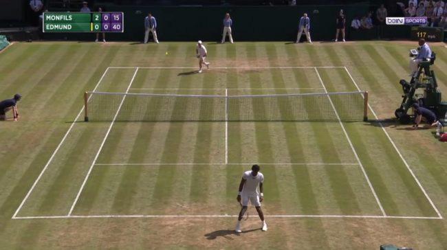 Le bluff amusant de Gaël Monfils (Wimbledon 2017)