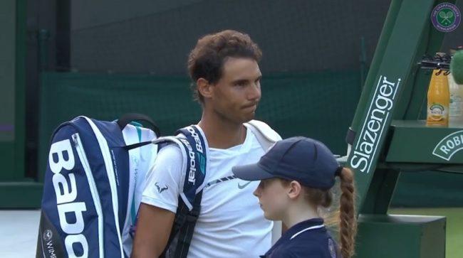 La très grande classe de Rafael Nadal (Wimbledon 2017)