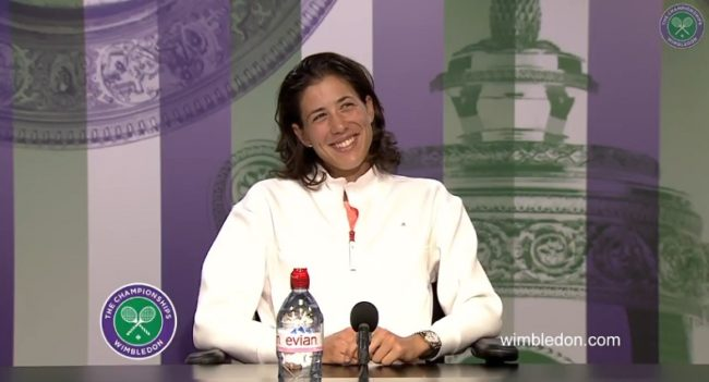 Garbine Muguruza veut danser avec Federer au bal de Wimbledon