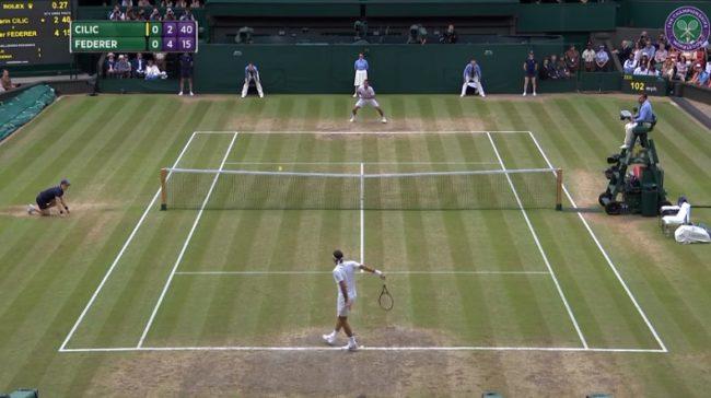 Federer vs. Cilic : les meilleurs points de la finale (Wimbledon 2017)