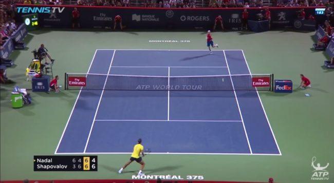 Denis Shapovalov, un gamin de 18 ans, envoie des souches pour battre Nadal (Montréal 2017)