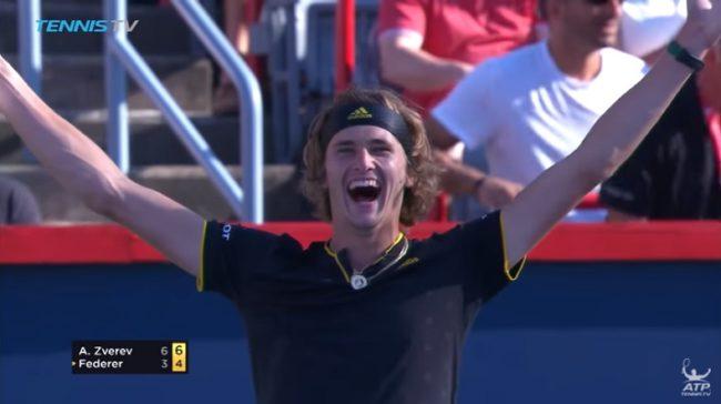 La pépite Alexander Zverev surclasse Roger Federer (Finale Masters 1000 Montréal 2017)