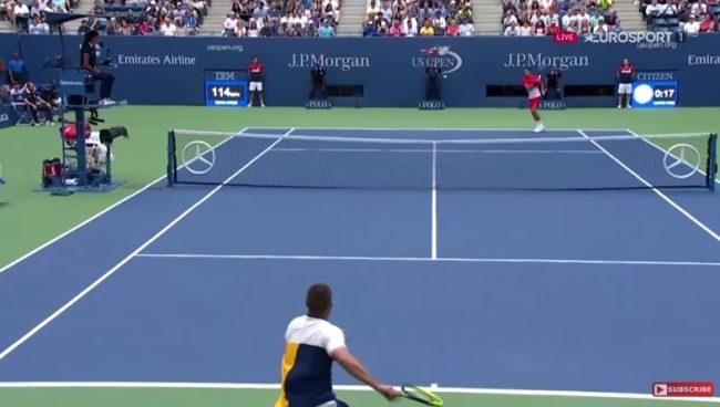 Roger Federer humilie Youzhny (US Open 2017)