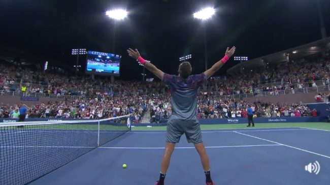 Les meilleurs points du monumental Del Potro vs. Thiem (US Open 2017)