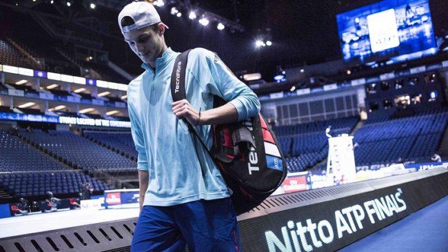 Maxence Brovillé, 18 ans, sparring-partner des Maîtres au Masters 2017