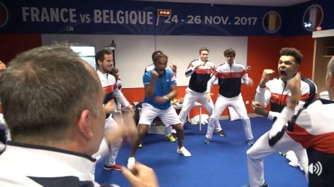 Les yeux dans les Bleus (Finale Coupe Davis 2017)