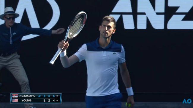 Djokovic étrille Young pour son retour (Open d'Australie 2018)