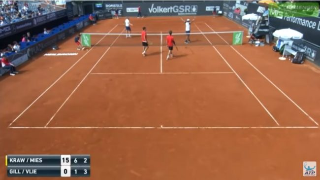 Challenger Heilbronn 2018 : un point incroyable en double