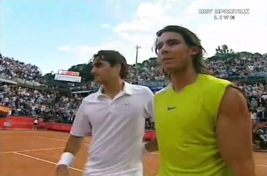 Nadal – Federer, un match de légende en finale du Masters Series de Rome 2006