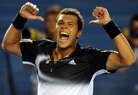 Tsonga sanctionne Nadal (Open d'Australie 2008)
