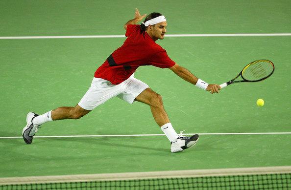 Une défense hallucinante de Federer contre Hewitt (Open d'Australie 2004)