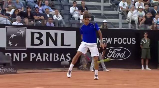 Les meilleures improvisations de Roger Federer