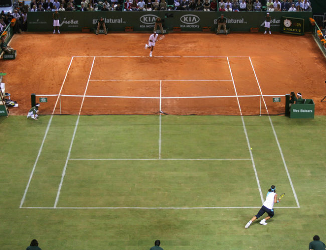 "Nadal vs. Federer, ""la bataille des surfaces"" (2007)"